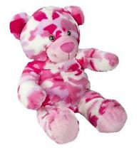 "PINK CAMO BEAR TEDDY CAMOUFLAGE NO SEW MAKING KIT BEAR SIZE 8-10""(20cm)"