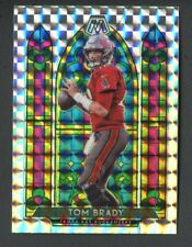 2020 Panini Mosaic Tom Brady Stained Glass Prizm Mosaic Ssp Insert Case Hit Bucs
