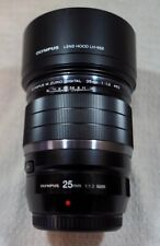 Olympus M. Zuiko Digital f/1.2 ED Pro Lens