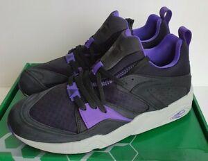 Puma Blaze of Glory Crackle - Black / Purple - UK 9 / US 10 / EUR 43 - Trinomic