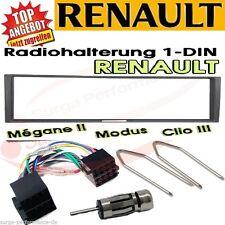 Renault Megane 2 Scenic Modus Clio Radio Blende Adapter Kabel /SET