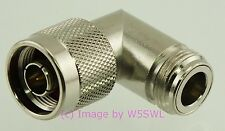 N Male to N Female Right Angle 90 degree Adapter - by W5SWL ®