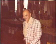 MEL BLANC in 1975 - color 8 x 10 photo of Bugs Bunny & Daffy Duck voice artist.