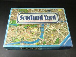 Scotland Yard - COMPLETE - Ravensburger Detective Board Game - UK