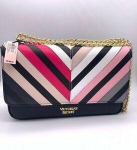 Victoria's Secret VS Multicolor Chevron Bond Street Shoulder Bag
