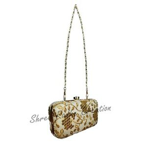 Pouch Handmade Embroidered Antique & Elegant Clutch bag With Free Shipping