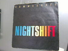 "COMMODORES - NIGHTSHIFT - 7"" SINGLE"