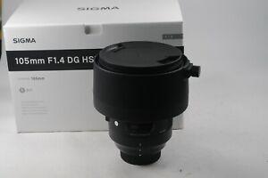 Sigma Art 105mm f/1.4 DG HSM Nikon Fit