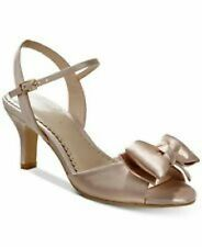 Charter Club Womens Shoes New Bow Ankle Strap Toe Sandals Blush 10M NEW Ulivo