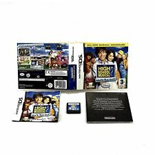 Nintendo Ds video Game High School Musical 2 Work This Out dance music songs