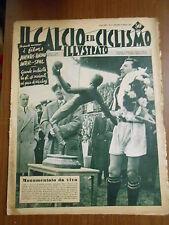 IL CALCIO e i CICLISMO illustrato-n.12 marzo 1953-25° giornata di campionato