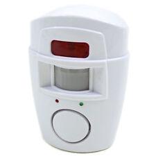 PIR Bewegungsmelder mit 2 Fernbedienungen 105 dB Batteriebetrieben Alarmanlage