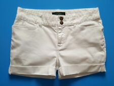 Ralph Lauren LAUREN Jean Co Women's Cut-off White Denim Jean Shorts - Size 10P