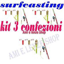 segnalatore di abboccata avvisatore pesca surf casting filo mulinello surfcastin