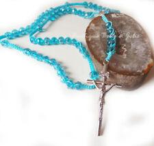 Kreuz Modeschmuck-Halsketten & -Anhänger mit Türkis-Hauptstein für Damen