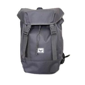 Herschel Supply Company IONA Grey Backpack Travel School Bookbag 19.5L - NEW!