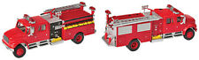 Walthers HO Scale Vehicle International(R) 4900 Crew Cab Fire Engine - Red