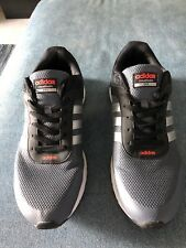 Adidas Cloudfoam Vs City MenS Gray/Blk Athletic Running Shoes Sz13 #AW4692