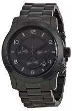 Michael Kors Men's Watch Black Stainless Steel Chronograph Sport $275