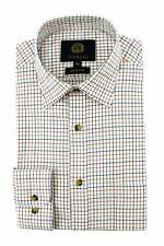 Viyella Cotton Plum Classic Tattersall Shirt