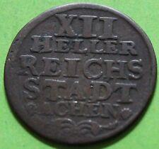 ALLEMAGNE XII HELLER REICHS STADT ACHEN 1760