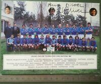 BB14 Photo dédicacée Autographe BE - Rugby - tournoi des 5 nations 1981