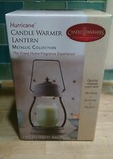 candle warmer hurricane lantern new in box wow metallic collection wow