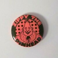 Vintage 1982 Rare Pin-back ''Zippy the Pinhead'' - Artist - Griffith