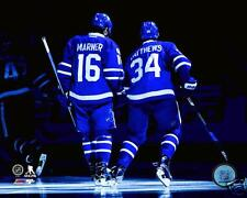 Toronto Maple Leafs Mitch Marner & Auston Matthews NHL Action Photo 16x20