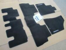 Oem 2012 2013 Seven 7 Passengers Kia Sorento Carpets Floor Mats Set Black 12 13