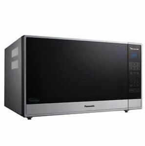Panasonic 2.2 Cu Ft Countertop Microwave Cyclonic Inverter NN-SN97HS Free Cover!