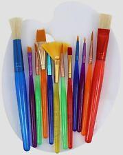 Big Kids Starter Brush Set 12 Brushes w/Bonus Mixing Palette!