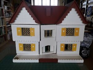 Vintage Gee Bee Double Fronted Dolls House 1/16th scale