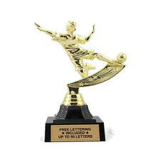 Soccer Trophy, Male- Futbol- Midfielder- Desktop Series- Free Lettering