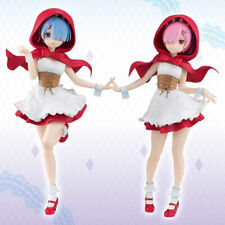 Re:Zero Starting Life in Another World Rem and Ram Figure Red Riding Hood Anime
