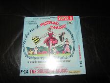 THE SOUND OF MUSIC  SUPER 8 COLOUR SOUND 400FT CINE 8MM FILM JULIE ANDREWS
