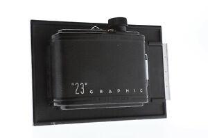 Graflex Graphic 23 6x9 Roll Film Back F/ 4x5