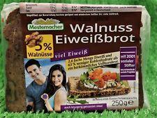 (4,98€/KG) Mestemacher Walnuss Eiweißbrot mit 5% Wallnüssen viel Eiweiß 250g PK