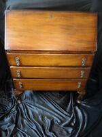 Antique Georgian Style Bureau Office Writing Desk Mahogany
