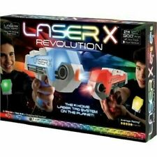 Laser Tag X Revolution Double Blaster 2 Player Set Brand New In BoxFree Shipping