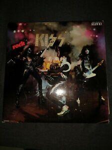 vinyle double album kiss Alive!