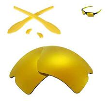 Walleva Lenses and Rubber Kit for Oakley Flak 2.0 XL- Multiple Options
