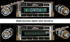 1963-64 Ford Galaxie NEW USA-630 II* 300 watt AM FM Stereo Radio iPod, USB, Aux