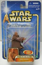 STAR WARS AOTC Mace Windu Arena Confrontation Action Figure NIP 2002 Hasbro