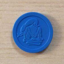 CAPS - FIGURINA FUN CAPS DISNEY - SLAMMER BLU -PAPERINO ARRABIATO - PLASTIC DISC