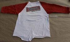 Rare Vintage 1974 Get Rufusized Rufus & Chaka Khan Baseball T-Shirt M Medium