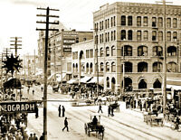 "1908 Labor Day Parade, Spokane, Washington Vintage Photo 8.5"" x 11""  Reprint"
