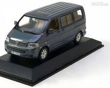 RARE VW T5 7H TDI 2003 MULTIVAN OFF ROAD GREY 1:43 MINICHAMPS (DEALER MODEL)