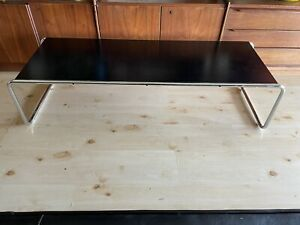 Authentic Knoll Studios Marcel Breuer Laccio Coffee Table Made In Italy