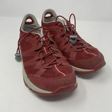 LL Bean Sneakers Women's Size 7.5 M Red Trail Hiking Shoes Outdoors